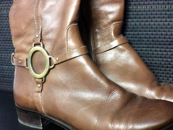 Progetto Leather Boots
