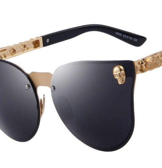 Skull Frame Sunglasses