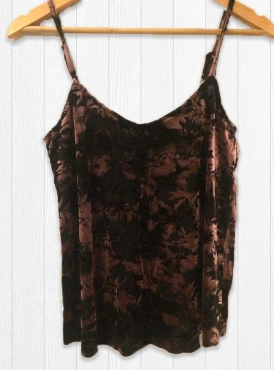 Miss Selfridge Velvet Top