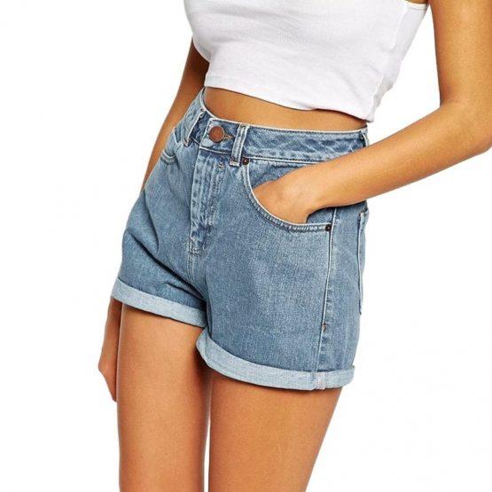 Denim Shorts - Euro Style