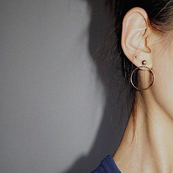 Stud Hoop Earrings