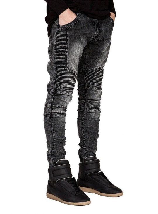 Men Jeans - Biker Style