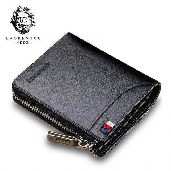Genuine Leather Wallet - Men's