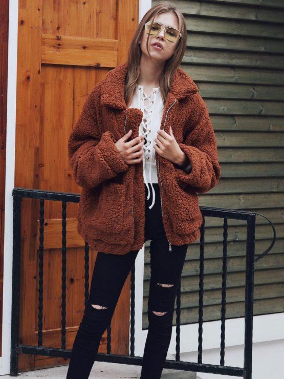 Teddy Coat - Short