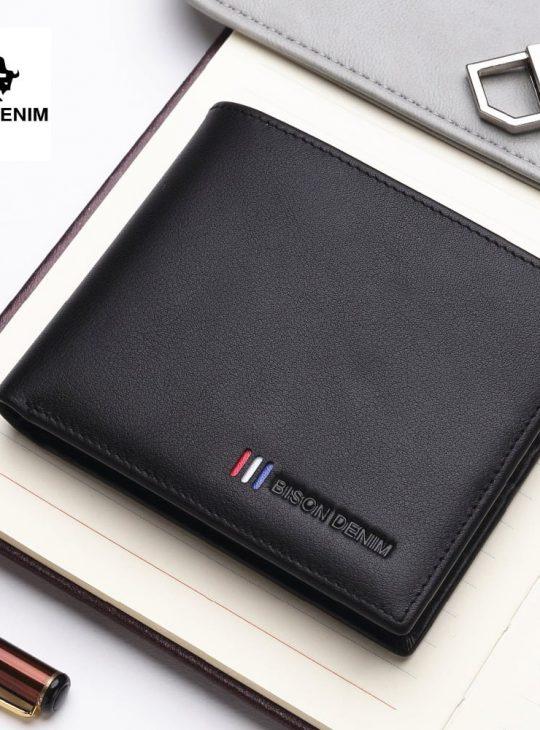 Leather Wallet - Genuine Cowhide