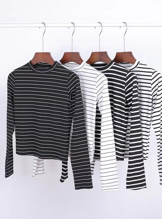 Stripy Longsleeve Top