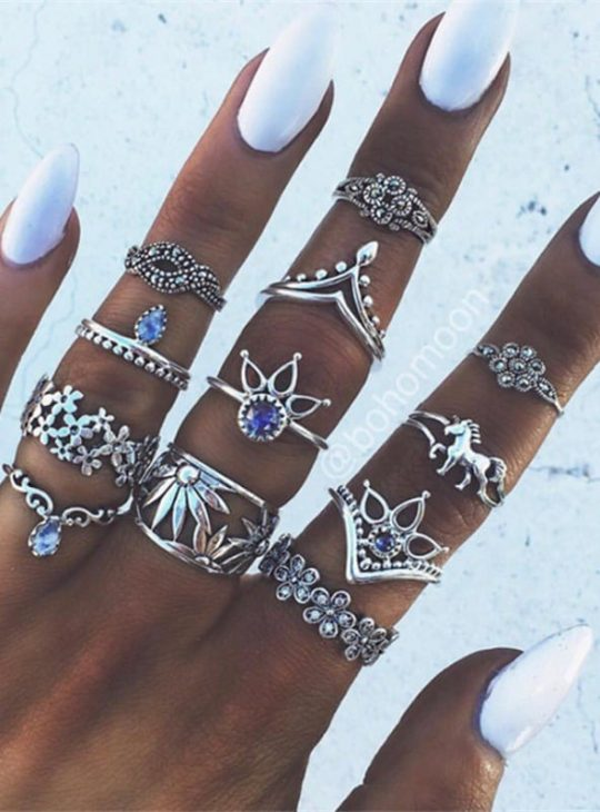 Vintage / Bohemian style ring sets