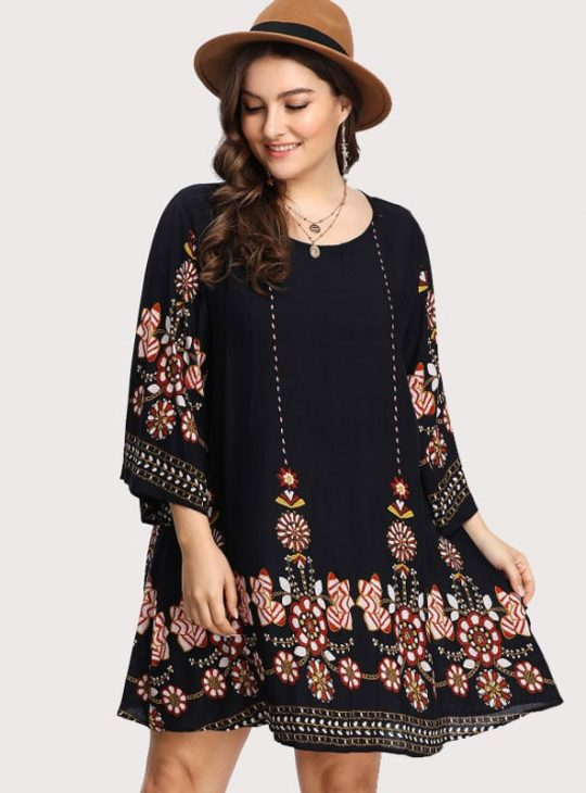 Swing Dress - Plus Size