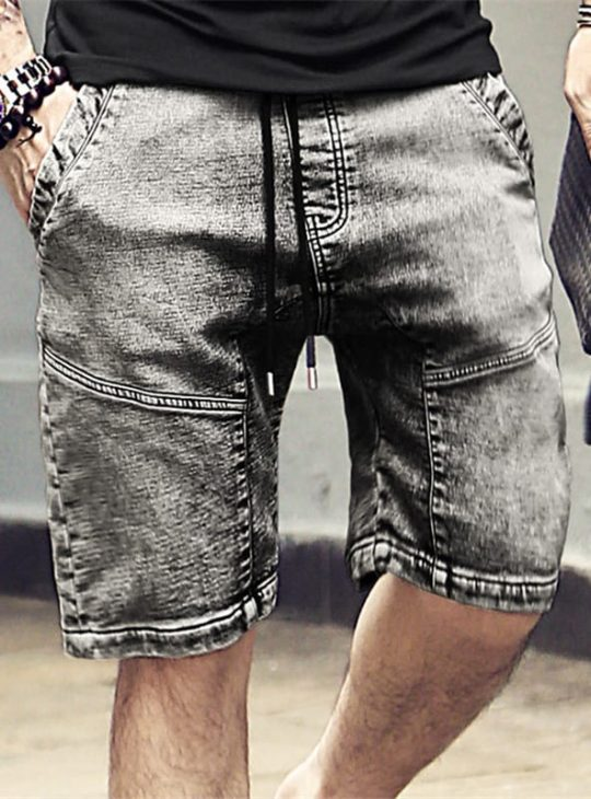 Men's Stonewash Shorts