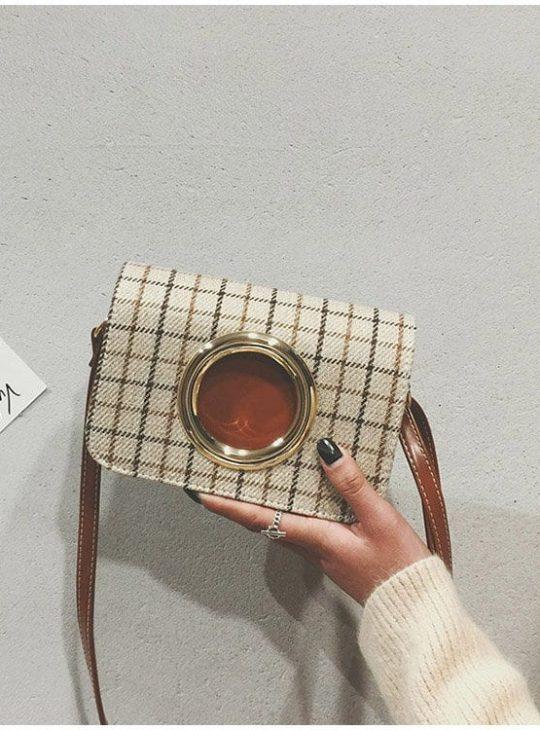 Tartan Ring Bag
