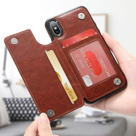 Leather iPhone Case (all models)
