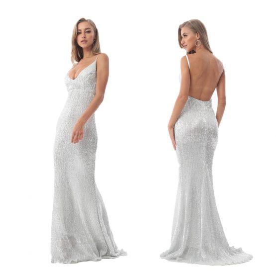 Sequin Ball Dress