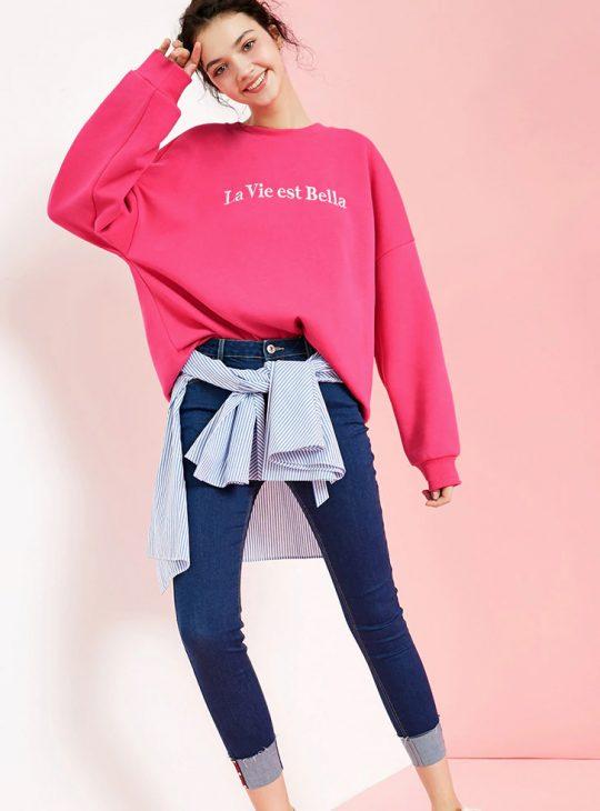 La Vie Est Bella Sweater