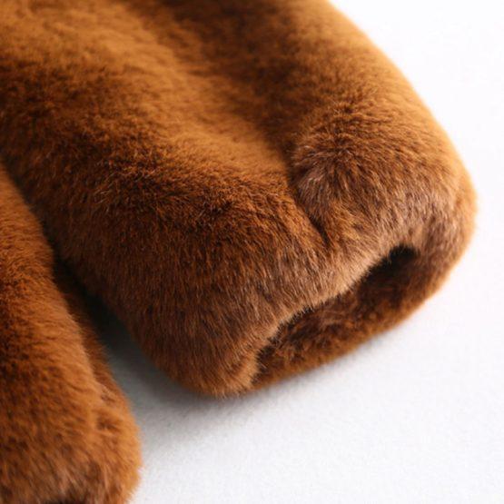 Luxury Hooded Teddy Coat