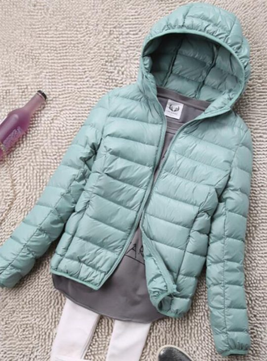 Women's Light Duck Down Jacket