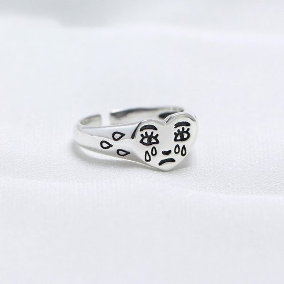 Crying Heart Ring