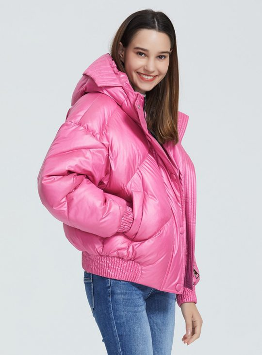 Retro Style Puffer Jacket