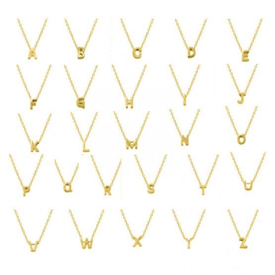 Petite Letter Necklace